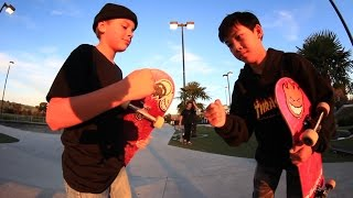 13 YEAR OLD GAME OF SKATE