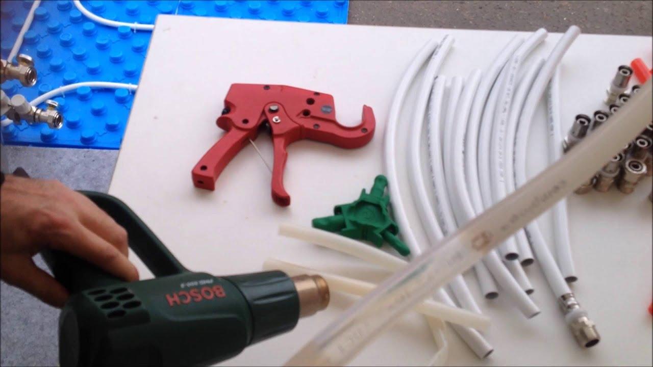 Инструмент для монтажа труб из сшитого полиэтилена rehau