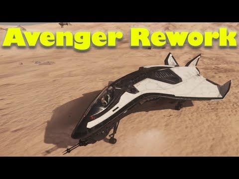 Star Citizen 3.2 | Aegis Avenger Rework First Look & Review