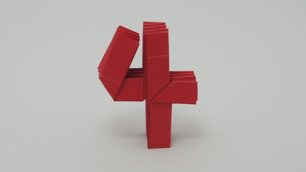 Origami Number 4