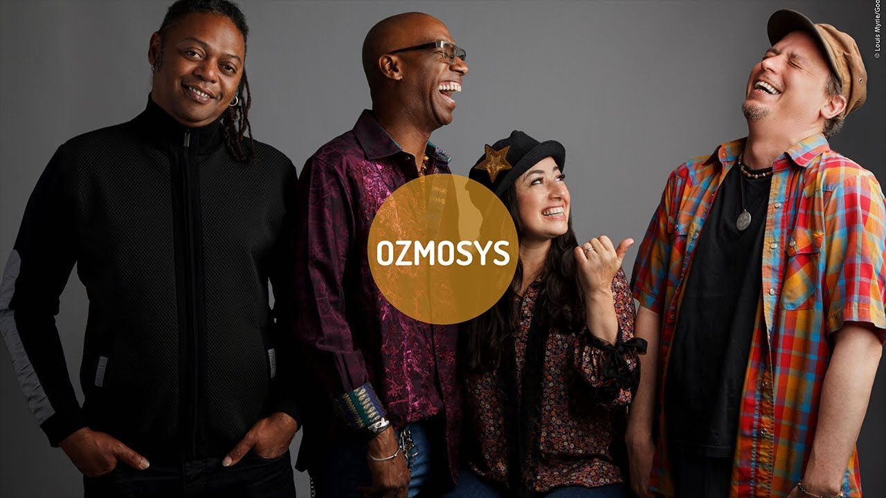 Ozmosys - EPK映像を公開 Omar Hakim, Rachel Z, Linley Marthe, Kurt Rosenwinkelによる新プロジェクト thm Music info Clip