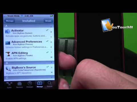 SimpleMobile iPhone iOS 4 MMS and internet fix !