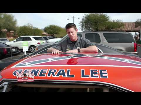 Positive Side - Carl Edwards & Bubba Watson - General Lee