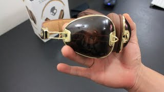 Review : Skullcandy ROC NATION Aviator Brown/Gold