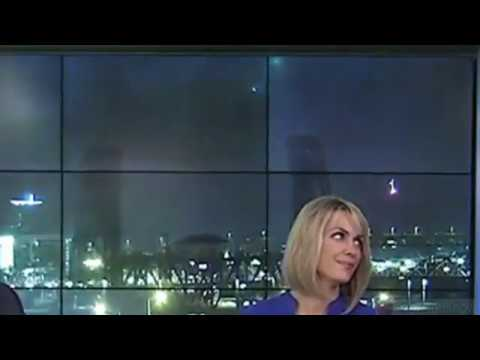 UFO Appears Behind Live Newscast in Oregon