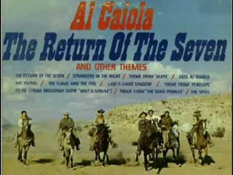 The Magnificent Seven - 3 themes - Al Caiola +