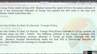 EBOLA the numbers are just not adding up, do you believe this???== By EeoN 2019 01 16