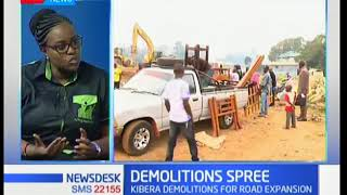 Demolition Spree: One on one with Haki Jamii CEO Pauline Vata