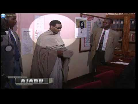 KTN Ajabu : Guilty as charged as a man pretends to be a woman