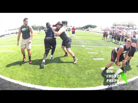 Mess with the bull, you get the 'Horns: Rowdy Driggers, Lennard 2016 OL DL – E7 Training Camp Spring 2015