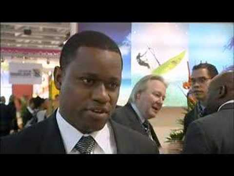 Wayne Garland, Executive Chairman, Turks & Caicos Islands Tourist Board @ ITB Berlin 2008