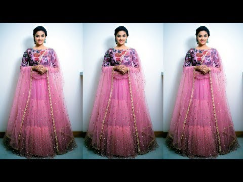 Latest Top Trending Cine Actress Keerthi Suresh Types of Dressing Styles Cloths Designs