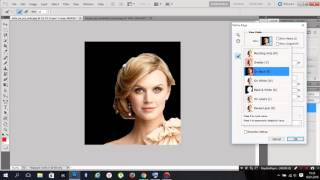 Photoshop cs5 - refine edge