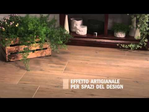 ROOT 2012: Piastrelle gres porcellanato effetto legno Ceramiche Caesar