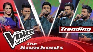 Miyuru Somarathne | Me Nagaraya  The Knockouts | The Voice Sri Lanka