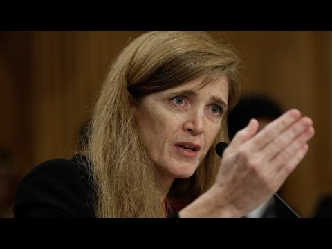 Samantha Power arrives in Ebola-stricken Guinea