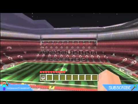 #Minecraft Old Trafford Football Stadium Build [XBOX 360]
