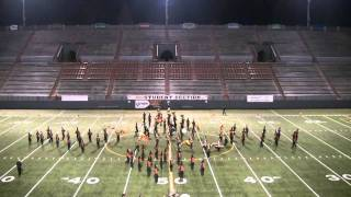 "Cheney High School Marching Band 2010 ""Fabric of Time"" Opening"