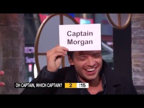 Sebastian Stan Captain America Winter Soldier Morning Buzz