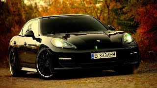 Porsche Panamera  /// The Black Artillery