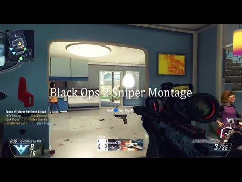 FaZe Pamaaj: First Black Ops 2 Sniper Montage