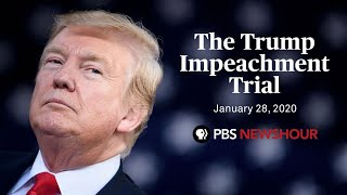 WATCH LIVE: Senate impeachment trial of Donald Trump | January 28