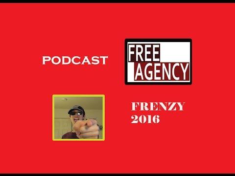NHL FREE AGENT FRENZY 2016 (PART 1)