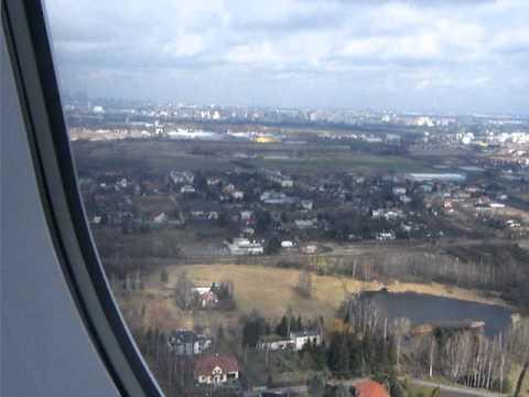 Lądowanie Samolotu Wizzair W Warszawie
