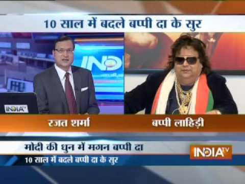 Bappi Lahiri Speaks To Rajat Sharma In Aaj Ki Baat video