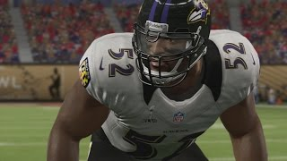RAY LEWIS THROUGH THE YEARS - madden 99 - madden 13