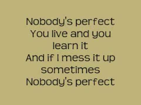 Hannah montana nobody s perfect