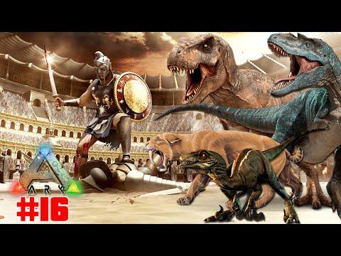 Ark Survival Evolved #16 | ARENA GLADIADORES E UPGRADE SERVIDOR 70 SLOTS