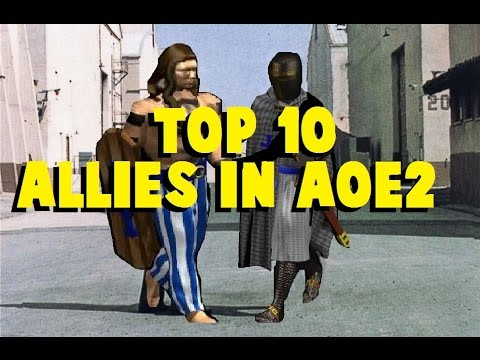 Top 10 Ally Civilizations in AoE2