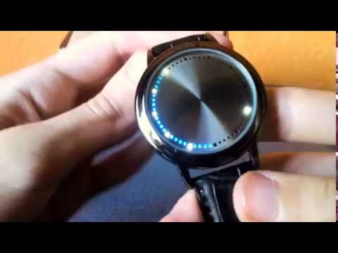 Water Resistant Watch LED Touch Screen Wristwatch Review - Обзор