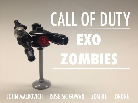 Lego Call Of Duty: Advanced Warfare Zombies!