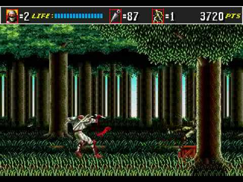 Shinobi III: Return of the Ninja Master Round 1 Zeeds Resurrection
