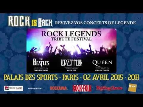 Image video Rock Legends Tribute Festival au Palais des Sports !