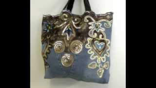 How to make a tote bag from old jeans (DIY Fashion) DIY Bag Vol 2