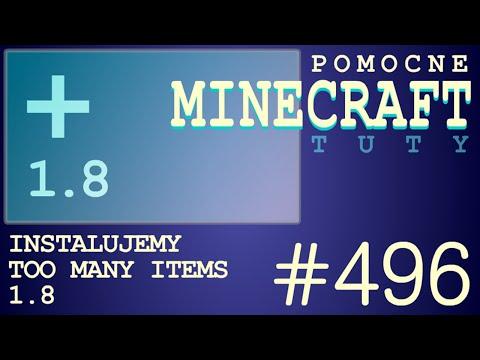 Too Many Items 1.8 (TMI) - Jak zainstalować mody - PL Instalacja moda do Minecr