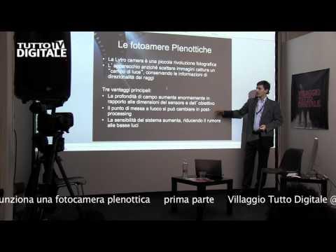 Come funziona la Lytro Light Field Camera  -  prima parte