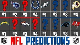 2018 NFL Playoff Predictions - Super Bowl Predictions 2018 (NFL 2018 - Super Bowl 53)
