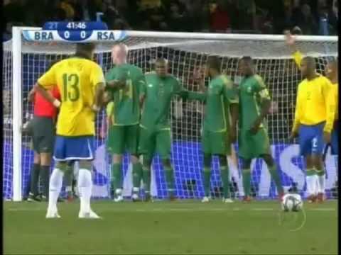 Brasil X Africa do Sul gol do Daniel Alves(Carolina & Olavinho Tostes)