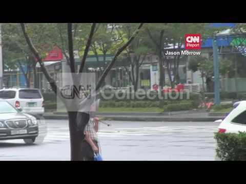 S KOREA:TYPHOON BOLAVEN DAMAGE
