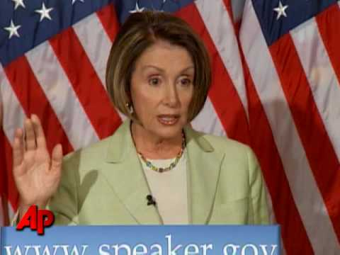 Pelosi: Bush, CIA Mislead Me on Torture