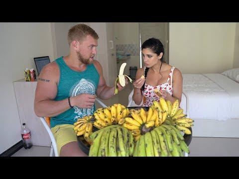 120 Бананов ЗА РАЗ. CheatMeal Challenge 2. 120 Bananas.
