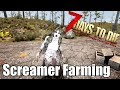 7 Days to Die - Screamers! - Can You Farm Zombies With A Crippled Screamer?