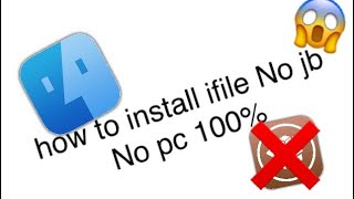 How to install ifile No JB no Pc 100% 😊