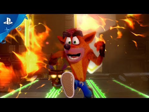 Crash Bandicoot N. Sane Trilogy - PS4 Gameplay Launch Trailer | E3 2017