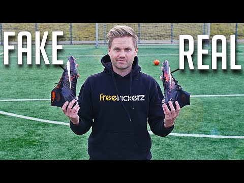FAKE vs REAL: Nike Mercurial Superfly CR7 IV - Test & Review