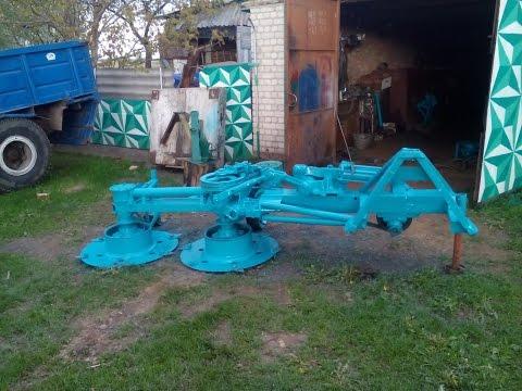 Косилка роторная своими руками тракторная